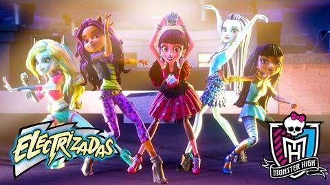 Comité de bienvenida Electrizadas Monster High