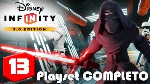El despertar de la fuerza Playset COMPLETO EP 13 Disney Infinity 3