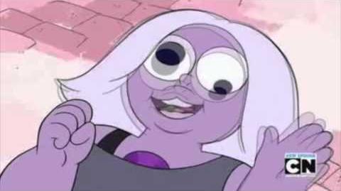 Steven Universe Un Beso Indirecto mensajes de Amathista