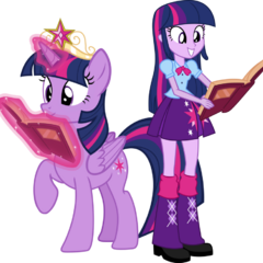La Princesa Twilight Sparkle en la saga <a href=