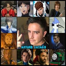 Arturo Cataño - Doblaje08