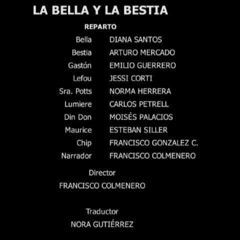 Creditos del DVD (2010)