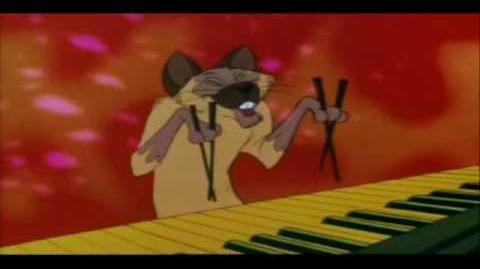 Los aristogatos - todos quieren ser un gato jazz