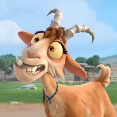 Lupe, la cabra en <a href=