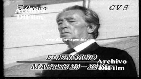 """DiFilm - Promo Película """"El Engaño"""" por Cablevisión con Robert Mitchum"""