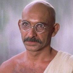 Mohandas Gandhi (<a href=