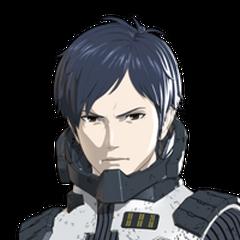 Haruo Sakaki en la trilogía del anime <a href=