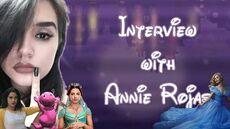 INTERVIEW -- ANNIE ROJAS (CINDERELLA 2015, JASMINE 2019, VERONICA LODGE AND MORE!)