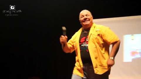 Presentación de Luis Perez Pons en Caracas Comic Con