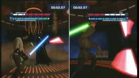 Star wars kinect duelo de destino duels of fate vs darth vader final duel