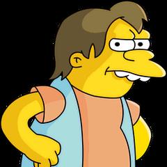 Nelson Muntz en <a href=