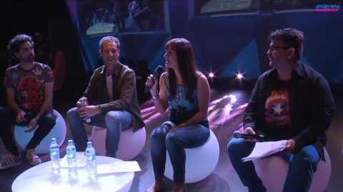 Panel de Doblaje en Argentina Game Show 2016-1