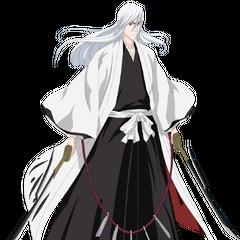 Jūshirō Ukitake en <a href=
