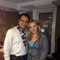 Víctor Ugarte (Svengallop) y Maggie Vera. (03/12/15)