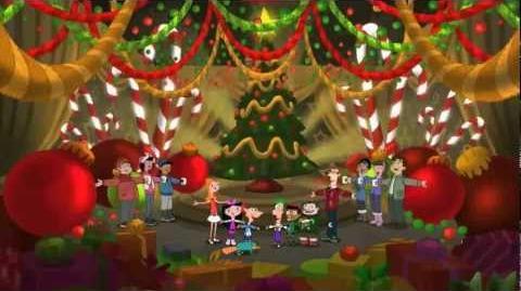 Te Deseamos Feliz Navidad - Phineas y Ferb HD