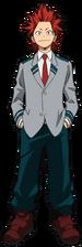 Eijiro Kirishima Student Uniform Profile MHA