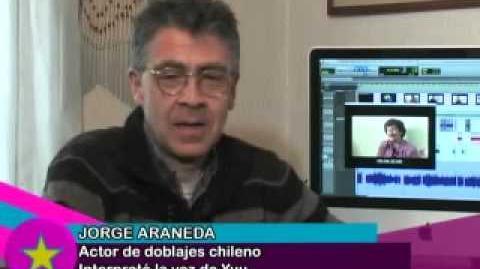 Jorge Araneda - Entrevista anímete