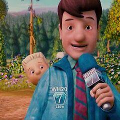 Reportero en animado también en <a href=