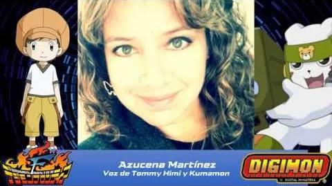 Azucena Martínez Saluda a los Fans