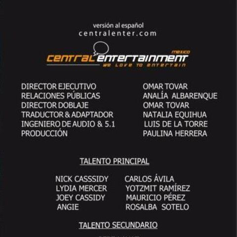 Créditos del DVD (Quality)