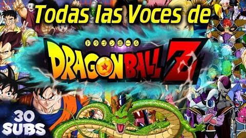 Todas las Voces de Dragon Ball en menos de 15 minutos- -19