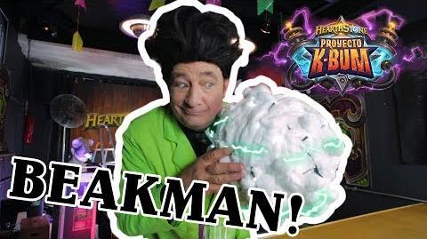¡El mundo de Beakman regresó! Hoy presentamos ¿un rayo cae en el mismo lugar? - Hearthstone Ep 2