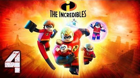 """LEGO LOS INCREIBLES - GAMMEPLAY EN ESPAÑOL (LATINO) - EPISODIO 4 """"ELASTIGIRL SE ENCARGA"""""""
