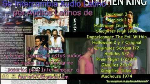 Maximum Overdrive 1986 Re-Doblaje Latino