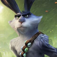 El conejo de pascua en <a href=