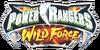Saban´s Power Rangers Wild Force Logo