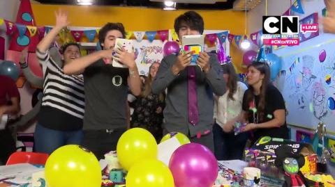 CN EN VIVO ¡Qué no pare la creatividad! Especial de cumpleaños con Alan Ituriel