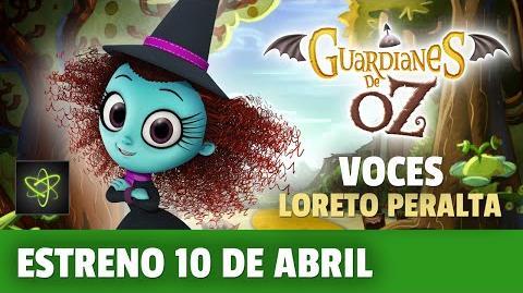 """Loreto Peralta Se Vuelve Brujita en """"Guardianes de Oz"""""""
