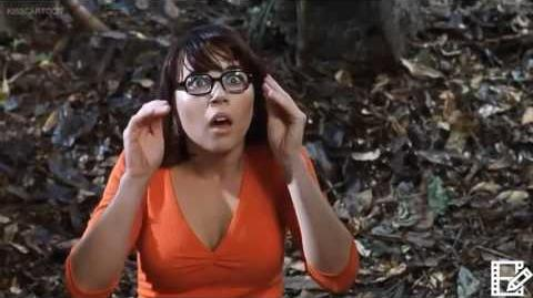 Scooby Doo 2002 Velma's and Daphne's demons in Spanish