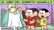 El niño del gorrito amarillo Mónica y sus amigos