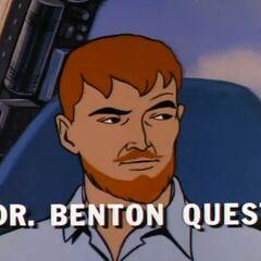 Dr. Benton Quest en <a href=