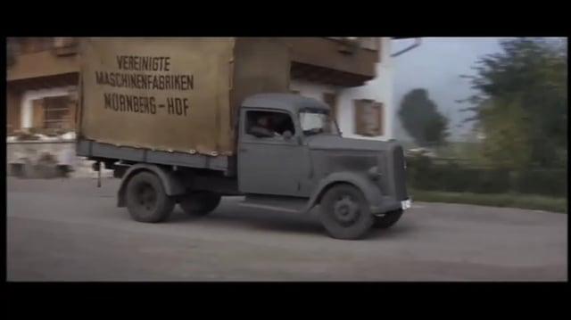EL GRAN ESCAPE(1963) CAVENDISH ES DETENIDO E INTERROGADO ESPAÑOL LATINO