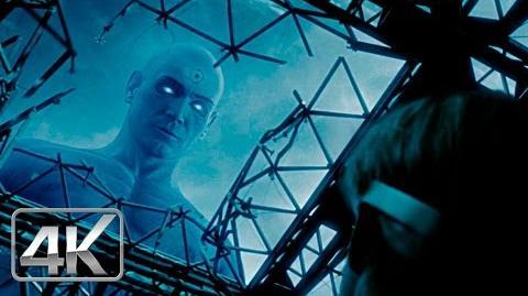 Dr Manhattan Vs Ozymandias LATINO (4K-HD) Watchmen 2009