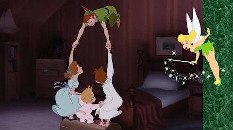 """Momento Disney """"¿Como Volar?"""" Peter Pan"""