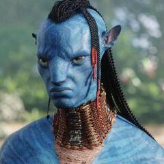 Tsu'Tey (Laz Alonso) en Avatar