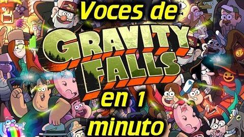 Voces de GRAVITY FALLS en 1 minuto- -07