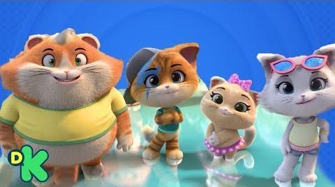 ¡Nueva serie! 44 gatos Discovery Kids