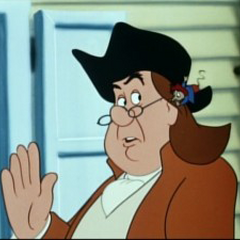 Benjamin Franklin en <a href=