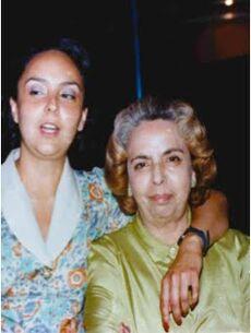 Magda Leonel y Magda Ruvalcaba