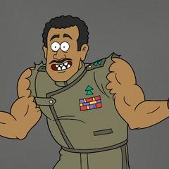 Coronel Rawls en <a href=
