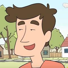 Danny en el corto animado <a href=