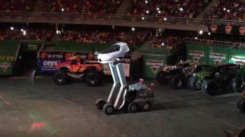 Lucha de Robots en Monster Jam - Chile 10-12-2016-0