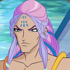 Príncipe Nereus de los océanos de Andros también en <a href=