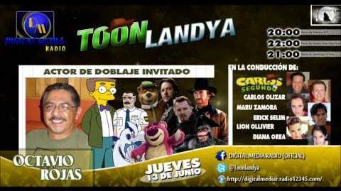 "Octavio Rojas en Toonlandya - Doblaje de ""Man of Steel"""