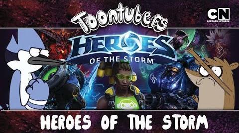 SOMOS MUY VETERANOS EN EL HEROES OF THE STORM ToonTubers Cartoon Network