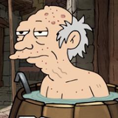Viejo del barril en <a href=